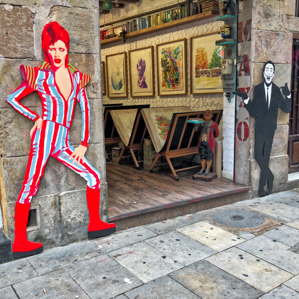 Vibrant Colours: Bowie ©HelenBushe